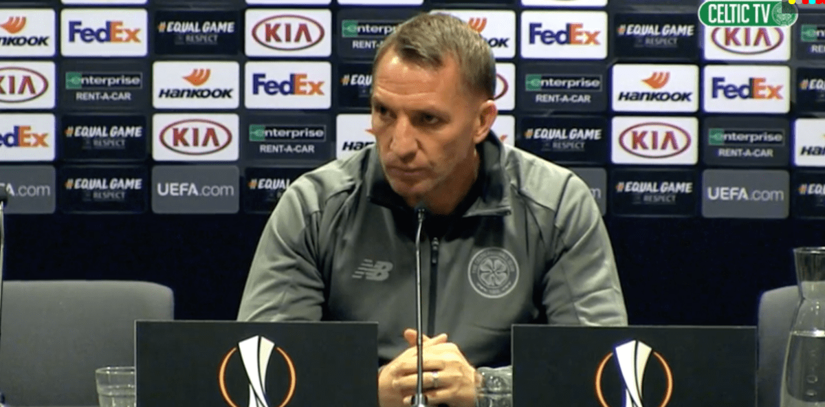 Senior Celtic Players Stepped In - Rodgers Confirms Leigh Griffiths Calls